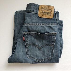Levi's 527 Highwaisted Bootcut Denim Jeans